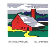 Lot #1719: ROY LICHTENSTEIN - Red Barn II - Color silkscreen