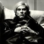 Lot #1464: HELMUT NEWTON - Andy Warhol, Sleeping - Original photolithograph