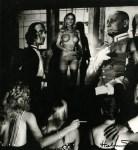 Lot #1216: HELMUT NEWTON - Hugh Hefner's Projection Room, Beverly Hills - Original vintage photolithograph