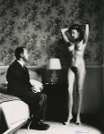 Lot #1209: HELMUT NEWTON - In My Hotel Room, Montecatini - Original vintage photolithograph