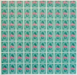 Lot #918: ANDY WARHOL - S&H Green Stamps - Color offset lithograph