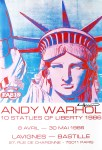 Lot #1499: ANDY WARHOL - 10 Statues of Liberty - Color offset lithograph