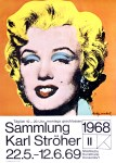 Lot #1121: ANDY WARHOL - Marilyn - Color offset lithograph