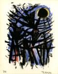 Lot #1562: RUFINO TAMAYO - Tres Aves y el Sol - Color lithograph