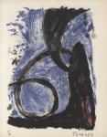 Lot #1300: RUFINO TAMAYO - Espiral - Color lithograph