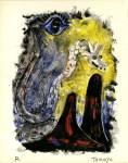 Lot #1029: RUFINO TAMAYO - Ojo y Serpiente - Color lithograph