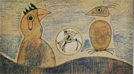 Lot #1031: MAX ERNST - Oiseaux - Color lithograph