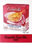 Lot #1394: ANDY WARHOL - Campbell's Soup Box - Original color offset lithograph