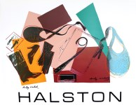 Lot #1235: ANDY WARHOL - Halston Women's Accessories - Original color silkscreen and lithograph