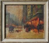 Lot #1779: EDOUARD CORTES [d'apres] - Parisian View - Oil on canvas