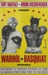 Lot #766: JEAN-MICHEL BASQUIAT & ANDY WARHOL - Warhol * Basquiat Paintings - Original color offset lithograph