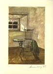 Lot #1312: ANDREW WYETH - Early October - Color offset lithograph
