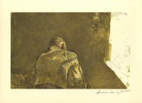 Lot #1645: ANDREW WYETH - Spring Sun - Color offset lithograph