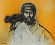 Lot #577: RAFAEL CORONEL - El Monero - Color offset lithograph