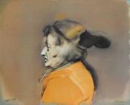 Lot #1083: RAFAEL CORONEL - Mujer de Zacatecas - Color offset lithograph