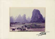Lot #1377: DON HONG-OAI - Chinese Workers in the Fields - Color analogue print