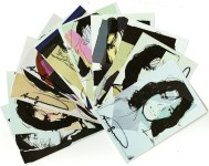 Lot #362: ANDY WARHOL - Mick Jagger Suite (first edition) - Color offset lithographs