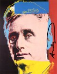 Lot #1913: ANDY WARHOL - Louis Brandeis - Color offset lithograph