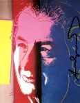 Lot #1251: ANDY WARHOL - Golda Meir - Color offset lithograph