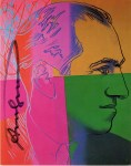 Lot #2025: ANDY WARHOL - George Gershwin - Color offset lithograph