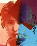 Lot #1686: ANDY WARHOL - Sarah Bernhardt - Color offset lithograph