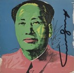 Lot #1127: ANDY WARHOL - Mao - Color offset lithograph