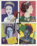 Lot #1714: ANDY WARHOL - Reigning Queens - Color offset lithograph