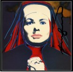 Lot #1978: ANDY WARHOL - Ingrid Bergman: The Nun (02) - Color offset lithograph