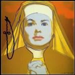 Lot #1977: ANDY WARHOL - Ingrid Bergman: The Nun (04) - Color offset lithograph