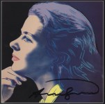 Lot #1981: ANDY WARHOL - Ingrid Bergman: Herself (02) - Color offset lithograph