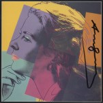 Lot #1208: ANDY WARHOL - Ingrid Bergman: Herself (03) - Color offset lithograph
