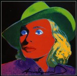Lot #1976: ANDY WARHOL - Ingrid Bergman: With Hat (03) - Color offset lithograph