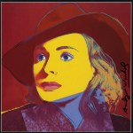 Lot #1975: ANDY WARHOL - Ingrid Bergman: With Hat (04) - Color offset lithograph