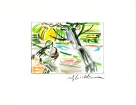 Lot #1584: ROY LICHTENSTEIN - The Sower - Color offset lithograph