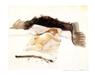 Lot #1743: ANDREW WYETH - Prestudy for Daydream - Color offset lithograph
