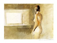 Lot #1231: ANDREW WYETH - Helga, Nude - Color offset lithograph