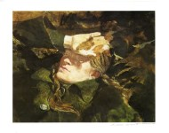 Lot #1628: ANDREW WYETH - Sun Shield - Color offset lithograph