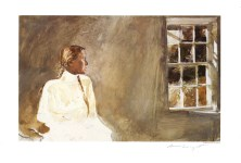Lot #1514: ANDREW WYETH - White Dress - Color offset lithograph
