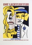Lot #1642: ROY LICHTENSTEIN - Stepping Out - Color lithograph
