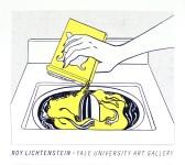 Lot #765: ROY LICHTENSTEIN - Washing Machine - Original color silkscreen