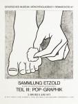 Lot #528: ROY LICHTENSTEIN - Foot Medication - Offset lithograph
