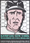 Lot #1435: ROY LICHTENSTEIN - Baseball Manager - Color lithograph