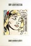 Lot #1635: ROY LICHTENSTEIN - Study for 'No Thank You!' - Color offset lithograph