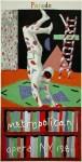 Lot #270: DAVID HOCKNEY - Parade, Metropolitan Opera, N.Y., 1981 - Color silkscreen