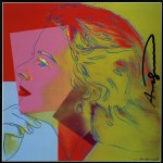 Lot #1980: ANDY WARHOL - Ingrid Bergman: Herself (06) - Color offset lithograph