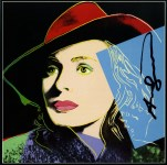 Lot #1974: ANDY WARHOL - Ingrid Bergman: With Hat (07) - Color offset lithograph