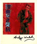 Lot #944: ANDY WARHOL - Rebel without a Cause - Color offset lithograph