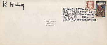 Lot #1640: KEITH HARING - Stonewall Station - Offset lithograph