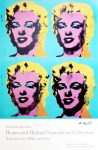 Lot #1268: ANDY WARHOL - Four Marilyns - Color offset lithograph poster