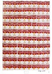Lot #1498: ANDY WARHOL - 100 Cans - Color offset lithograph
